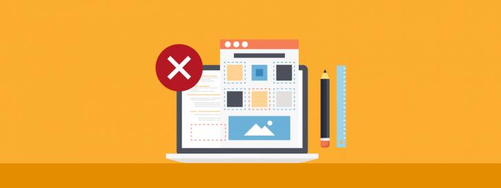 Situações em que o criador de sites não é indicado