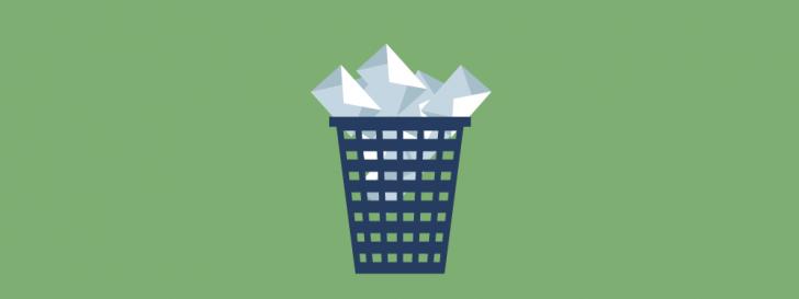 Liberar espaço em disco - e-mails