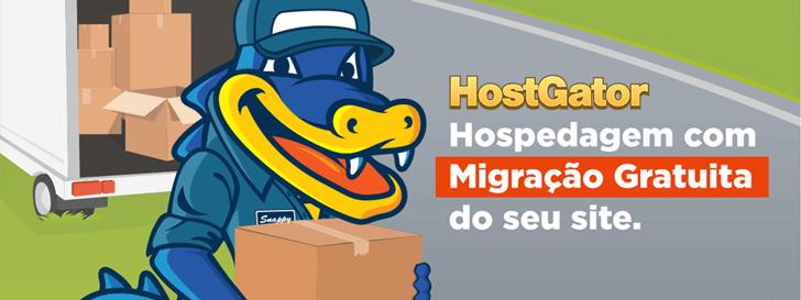 Migração de hospedagem gratuita HostGator