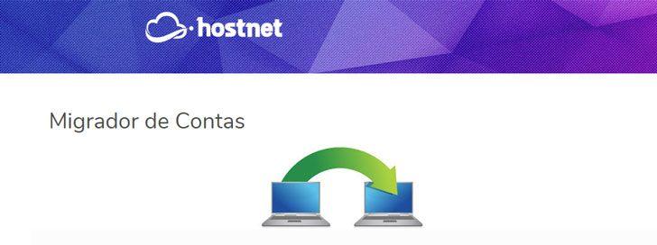 Migração gratuita Hostnet