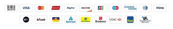 Formas de pagamento na WebLink