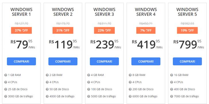 VPS Windows WebLink