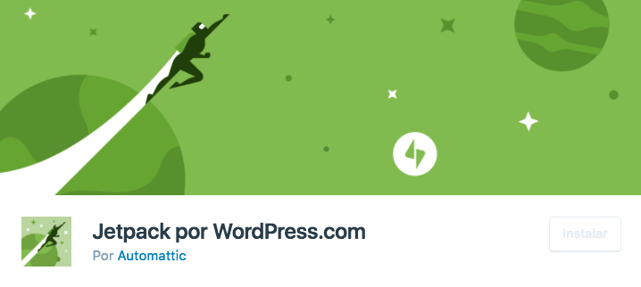 Plugin JetPack para WordPress