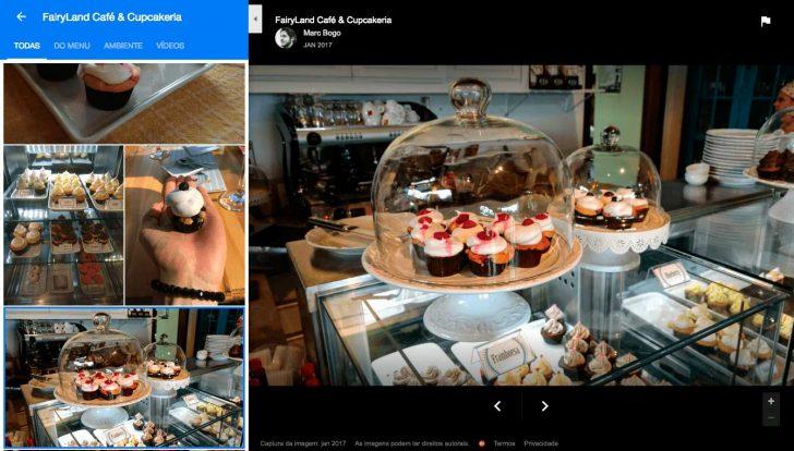 Fotos da Cupcakeria Fairyland no Google Meu Negócio