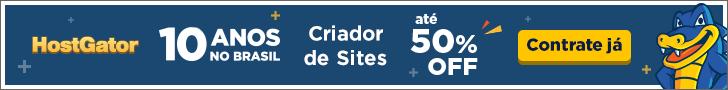 Criador de Sites em promoção - 50% de desconto