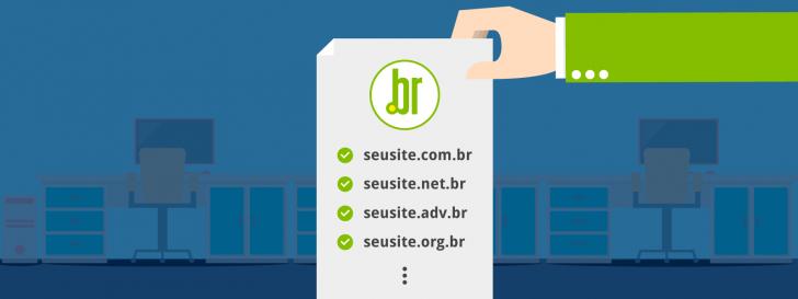 Processo de liberação de domínios Registro.br