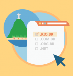 Extensão .rio.br está disponível para registro