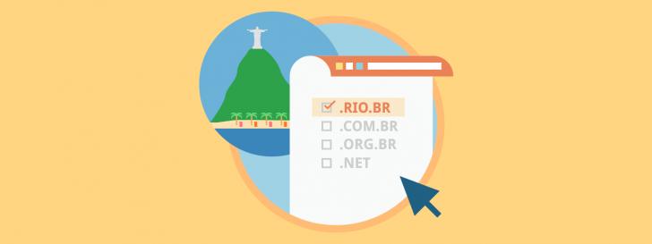 Extensão rio.br disponível para registro