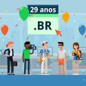 Extensão de domínio .br completa 29 anos