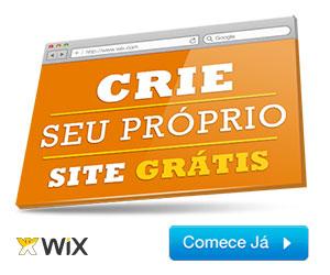 Crie seu próprio site grátis com o Wix!