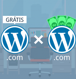 WordPress gratuito ou pago?