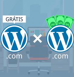WordPress gratuito ou pago?