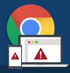 Chrome site não seguro