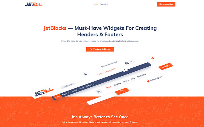 Plugin para Elementor JetBlocks