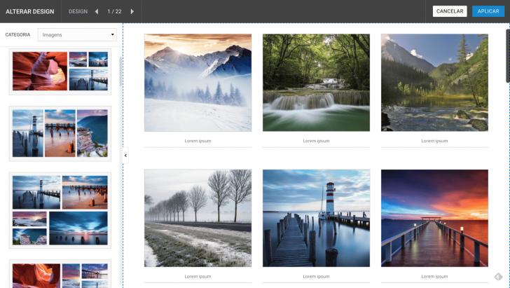 Galerias de imagens do criador da HostGator