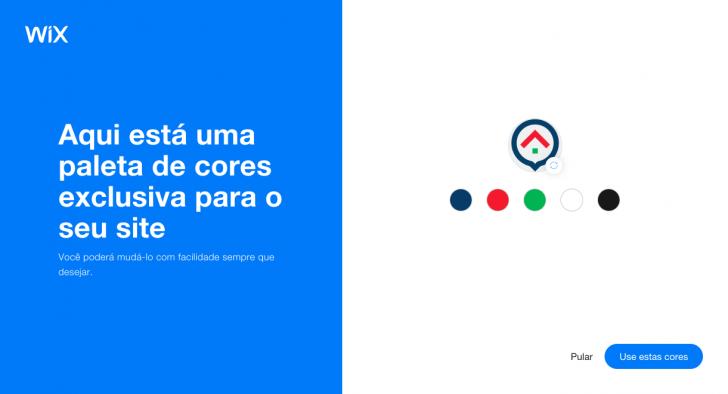 Exemplo de criação de paleta de cores a partir do logotipo do nosso site