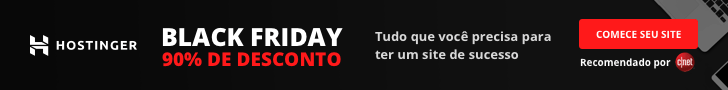 Hostinger hospedagem Black Friday