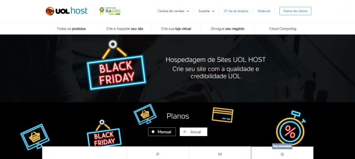 Black Friday UOL Host