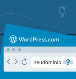 Como encontrar um domínio no WordPress.com