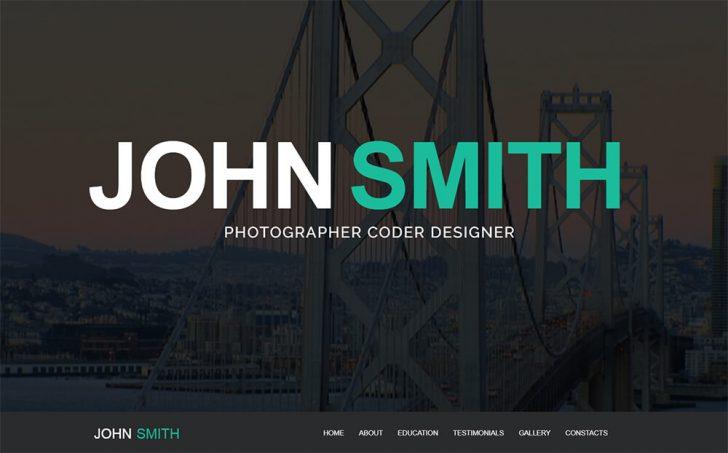 Template John Smith
