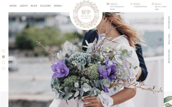 Tema WordPress Belle Fleur