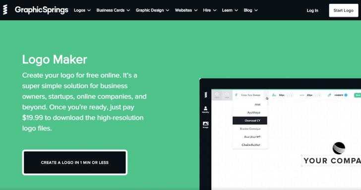 GraphicSpring, serviço de criação de logos