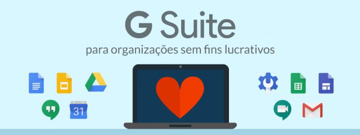 G Suite para organizações sem fins lucrativos