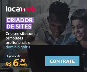 Criador de Sites Locaweb - a partir de R$ 6,90