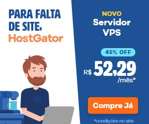 Servidor VPS HostGator a partir de R$ 52,29