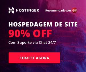 Hostinger hospedagem de sites com 90% de desconto