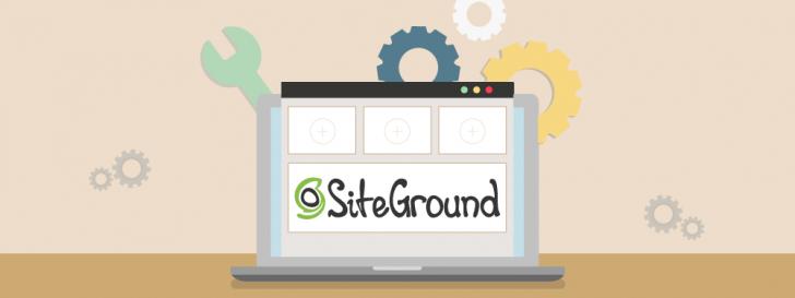 Novo painel da SiteGround