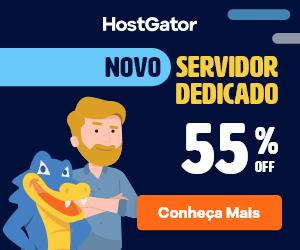 Novo servidor Dedicado HostGator - 45% de desconto - compre já!