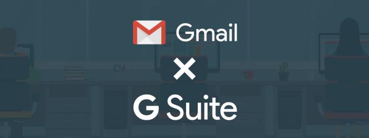 Gmail versus G Suite: comparativo