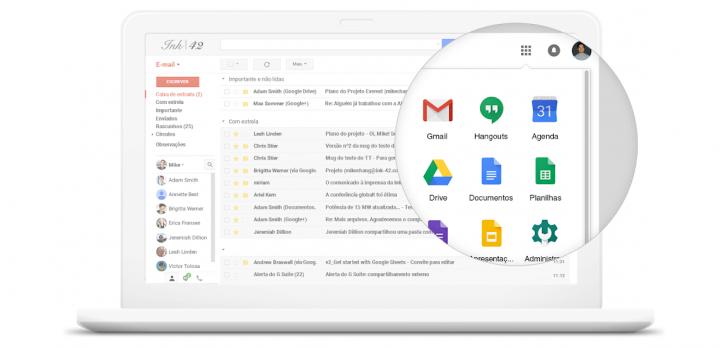 O G Suite engloba diversas ferramentas criadas pelo Google, mas voltada para empresas e profissionais.