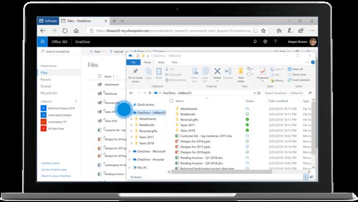 O One Drive, presente no Office 365, oferece 1 TB de armazenamento
