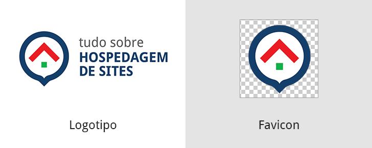 Logotipo e Favicon do Tudo Sobre Hospedagem de Sites
