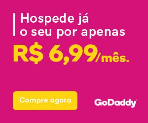 Hospedagem GoDaddy a partir de R$ 6,99