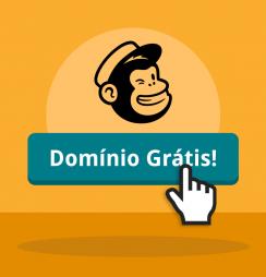Mailchimp oferece 5 anos de domínio gratuito