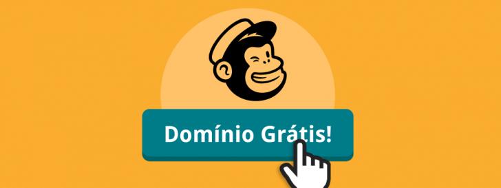 mailchimp oferece domínio grátis