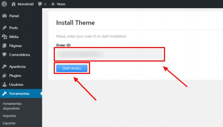 A facilidade de instalação é uma das vantagens de usar um tema pago no WordPress