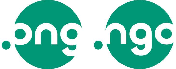 Logotipos das extensões .ong e .ngo