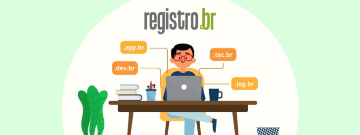 Novas extensões do Registro.br