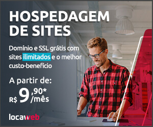 Hospedagem de Sites Locaweb - a partir de R$ 9,90