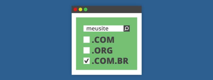 Como registrar um domínio