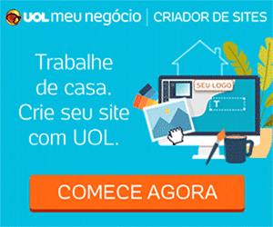 Trabalhe de casa. Crie seu site com UOL. Comece agora!