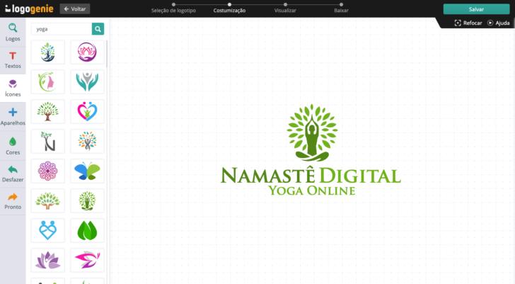 Criador de logotipo Logogenie