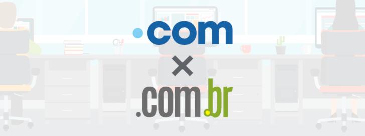 Domínio .com ou .com.br