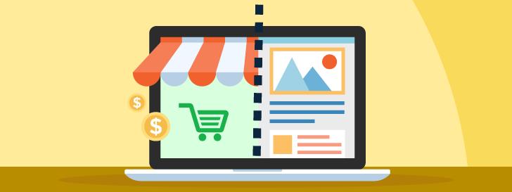 Blog e loja virtual