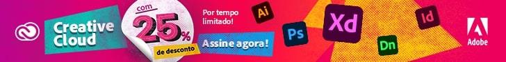 Adobe Creative Cloud com 20% de desconto. Promoção por tempo limitado. Assine agora!