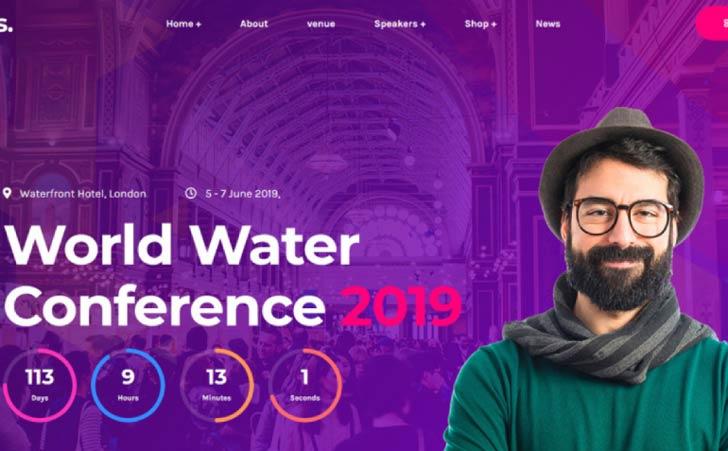 Eventes - Tema WordPress de conferência e evento